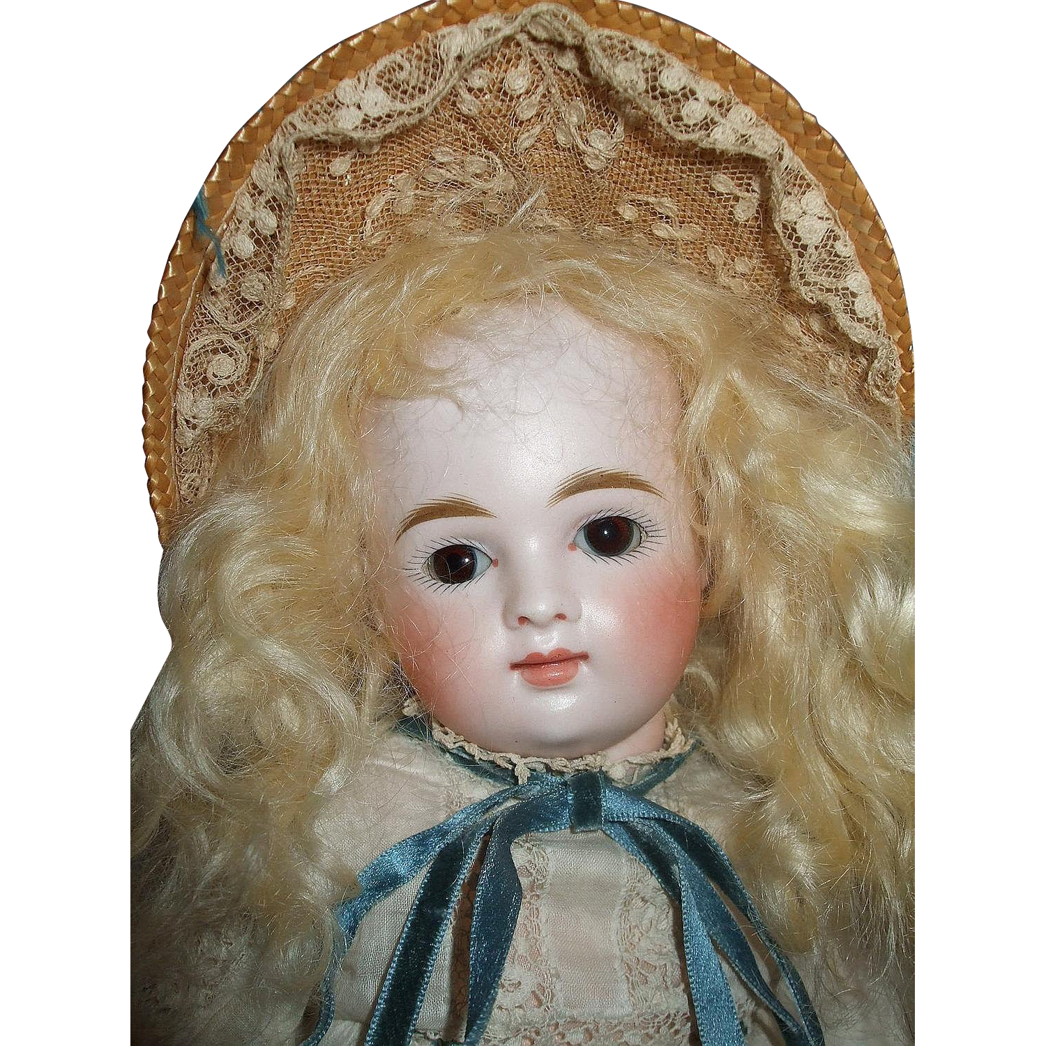 Incredibly Beautiful Kestner Round Face Doll