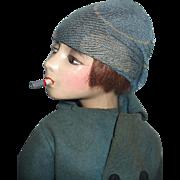 Wonderful Cubeb Boudoir Smoking Doll