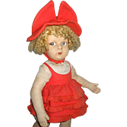 Adorable Lenci Series 110 Doll