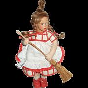 Adorable Lenci Mascotte Doll