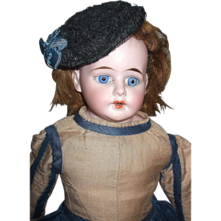 Adorable Unmarked Doll Nicely Dressed