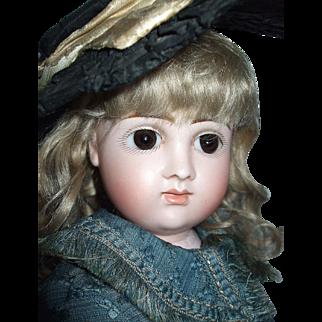 "Incredible Pensive 18"" Early Kestner Pouty Doll"