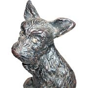 Great Character Scottie Dog Cast Iron Doorstop