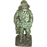Cast Iron Sea Captain Doorstop