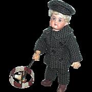 Unique Doll Wheel Horse Toy
