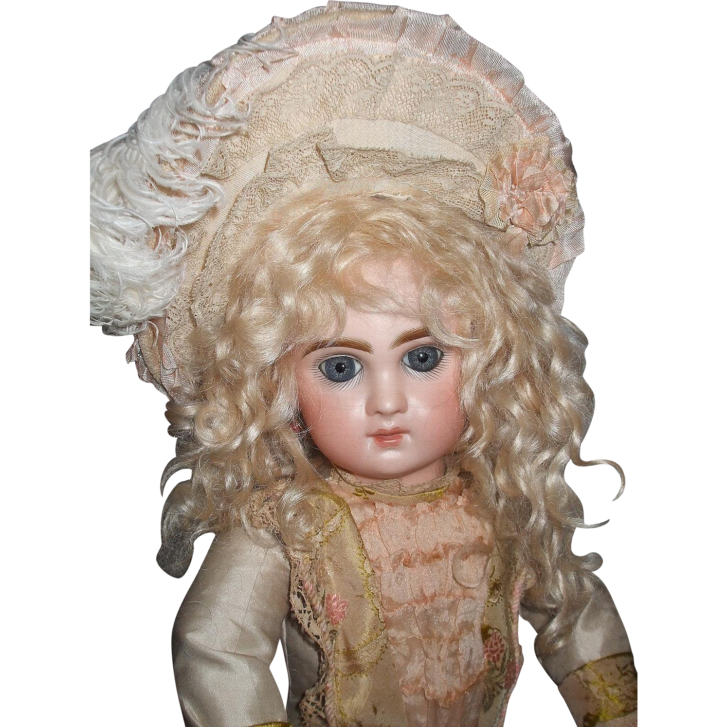 Gorgeous Antique Tete Jumeau Size 6 Doll