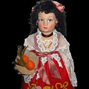 Lenci Lucia Face Doll All Original