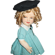 RARE 1930's Allwin Shirley Temple All Original Tagged Doll UFDC 1st Place Winner In 2005