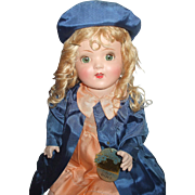 "21"" All Original Horsman Bright Star/Art Doll With Tag"