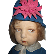 Beautiful All Original Lenci Series 109 Doll