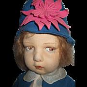 Beautiful All Original Lenci Series 109 Doll
