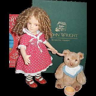 """ARTIST PROOF"" Goldilocks And Baby Bear By R John Wright 4 of 5"