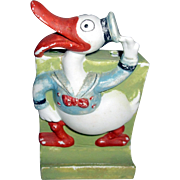 Long Billed Donald Duck Toothbrush Holder 1930's