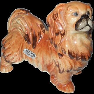 Goebel Queeny The Pekingese Dog With Original Label
