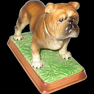 Vintage 1960s MACK TRUCKS Limited Edition Ceramic Bulldog Dog Keith Smykal Assoc