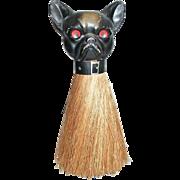 Boston Terrier Dog Or French Bulldog Whisk Brush
