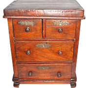 Wonderful Antique Doll Chest Of Drawers