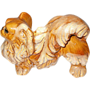 Cute Seldom Found Royal Haeger Pekingese Dog Figurine