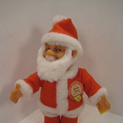 Steiff's Santa Doll Replica With All IDs