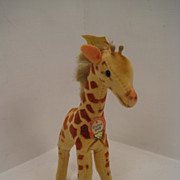 Steiff's Baby Giraffe With All IDs