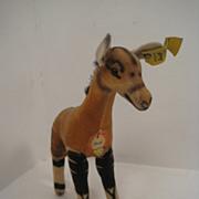 Steiff's Smallest Baby Velvet Okapi With All IDs