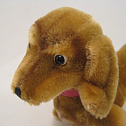 Steiff's Medium Hexie Dachshund With ID