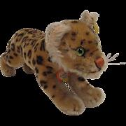 Steiff's Medium Sized Running Leopard With All IDs