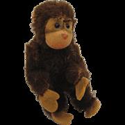 Smallest Brown Mohair Steiff Jocko Monkey With ID