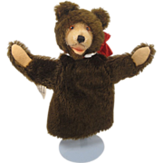 Steiff's Teddy Baby Puppet With ID