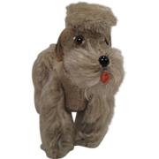 Steiff's Almost Smallest Grey Snobby The Poodle - Red Tag Sale Item