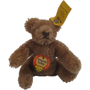 Steiff's Smallest Bendie Style Original Teddy Bear With All IDs