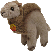 Steiff's Soft Plush Hocky Camel With ID