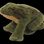 Steiff's Smallest Velvet Frog