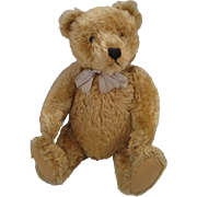 Steiff's Larger And Delightful Blonde Original Teddy Bear With IDs