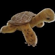 Steiff's Medium Sized Slo Turtle With ID - Red Tag Sale Item