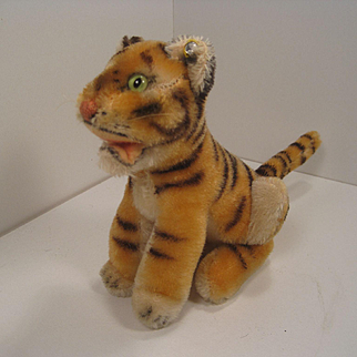 Steiff's Smallest Bengal Tiger With ID