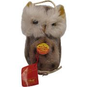 Steiff's Charming Musical Wiggi Owl With All IDs