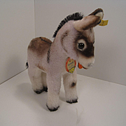 Steiff's Smallest Grissy Donkey With All IDs
