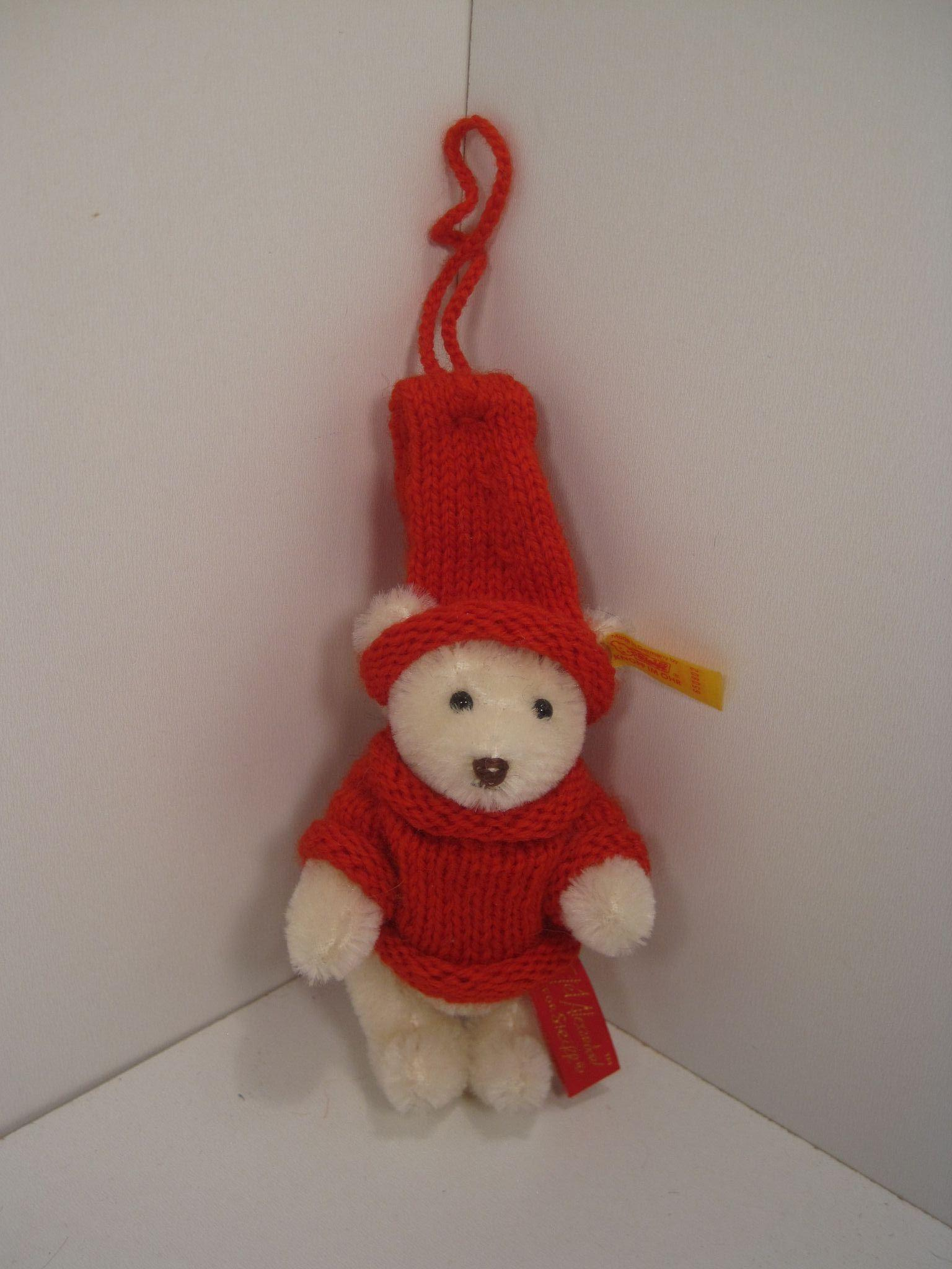 Steiff Limited Edition Christmas Ornament Tinsel From 1994 ...