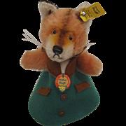 Steiff's Fox Nightcap Doll With All IDs
