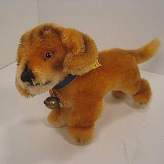 Steiff's Smallest Standing Bazi Dachshund With All IDs