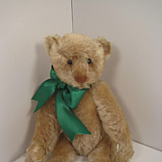 Steiff's Very Early White Mohair Teddy Bear With A Blank Button And Five Claws