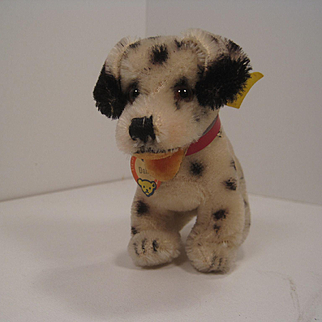 Steiff's Early and Smallest Dally Dalmatian With All IDs