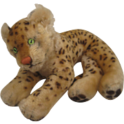 Steiff's Medium Sized Lying Leopard