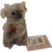 Steiff's Mohair Bonbo Koala With All IDs