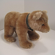 Steiff's Medium Mohair Standing Bear Cub