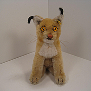 Steiff's Smallest Luxy Lynx With IDs