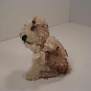 Steiff's Smallest Sitting Postwar Molly the Puppy Dog