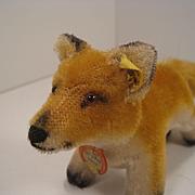 Steiff's Smallest Postwar Standing Fox With All IDs