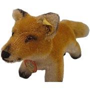 Steiff's Smallest Postwar Standing Fox With All IDs